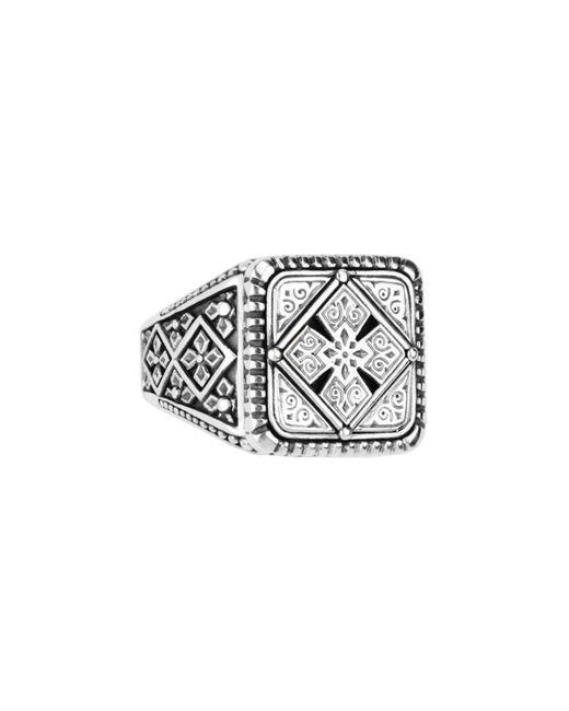 Konstantino - Metallic Men's Sterling Silver Classics Signet Ring Size 10 for Men - Lyst