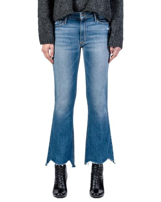 Black Orchid Blue Chrissy Kick Flare Vintage Rehab Jeans