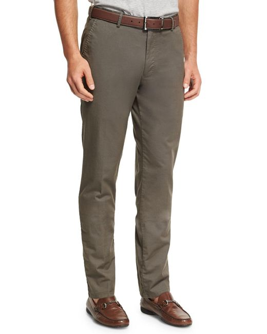 Peter Millar - Natural Soft Touch Twill Trouser for Men - Lyst