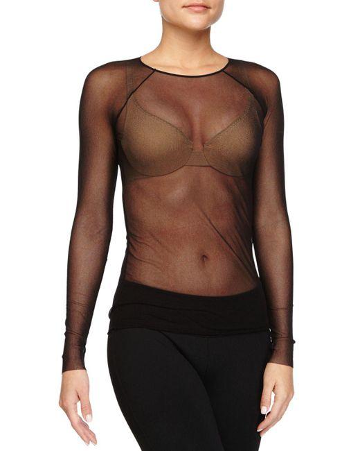 Cosabella | Black Soire Raglan Long-sleeve Top | Lyst