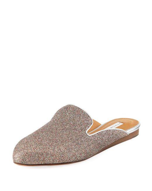Veronica Beard - Multicolor Greyson Glitter Metallic Mule - Lyst