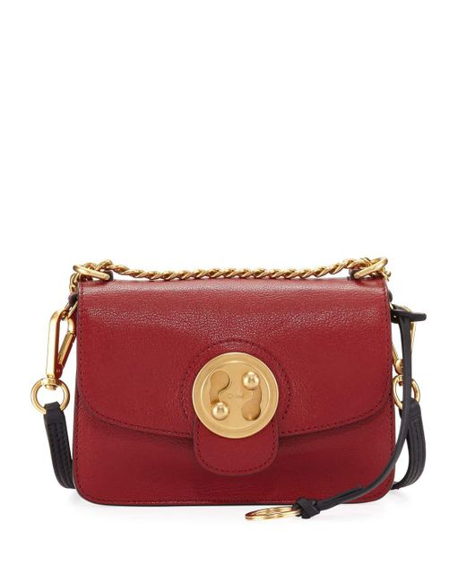 Chloé | Red Mily Small Leather Shoulder Bag | Lyst