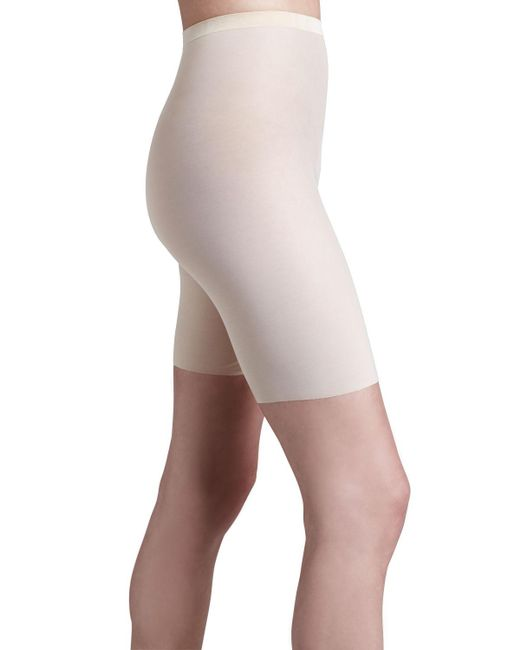 Wolford - Natural Tulle Control Shapewear Shorts - Lyst