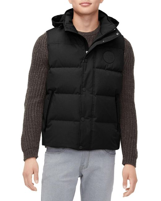 Ugg - Black Men's Nathaniel Waterproof Hooded Vest for Men - Lyst