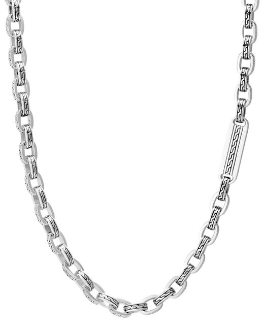 John Hardy - Metallic Sterling Silver Classic Chain Link Necklace for Men - Lyst