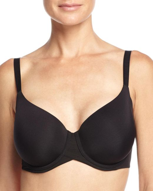 Wacoal - Black Ultra Side Smoother Contour Underwire Bra - Lyst
