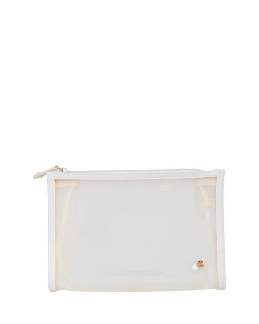 Stephanie Johnson - White Medium Zip Cosmetics Bag - Lyst