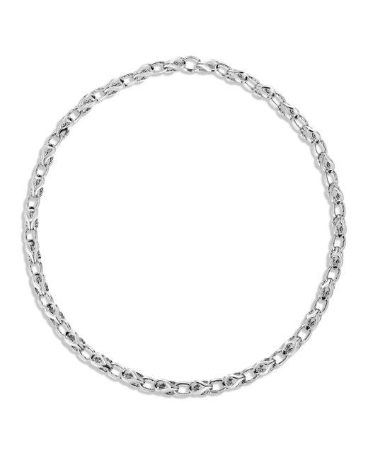 John Hardy Metallic Men's Classic Chain Silver Link Necklace 26 for men