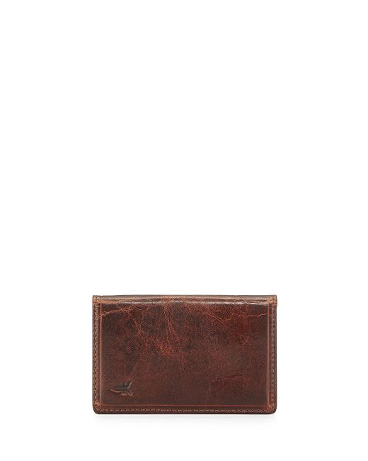 Frye | Brown Logan Small Leather Bi-fold Wallet for Men | Lyst