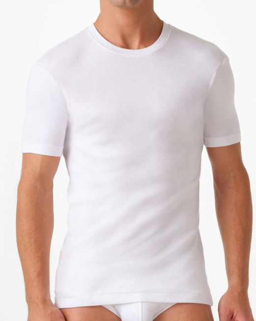 2xist White Pima Crew Neck for men