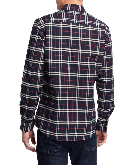 burberry shirt pattern