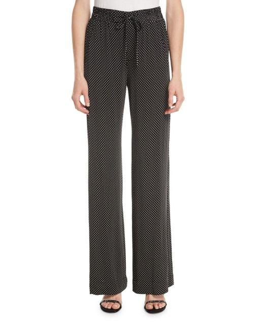 Nanette Lepore - Black Pure Dot Jersey Pull-on Pants - Lyst