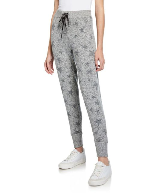 Rails Gray Devon Star-print Sweatpants