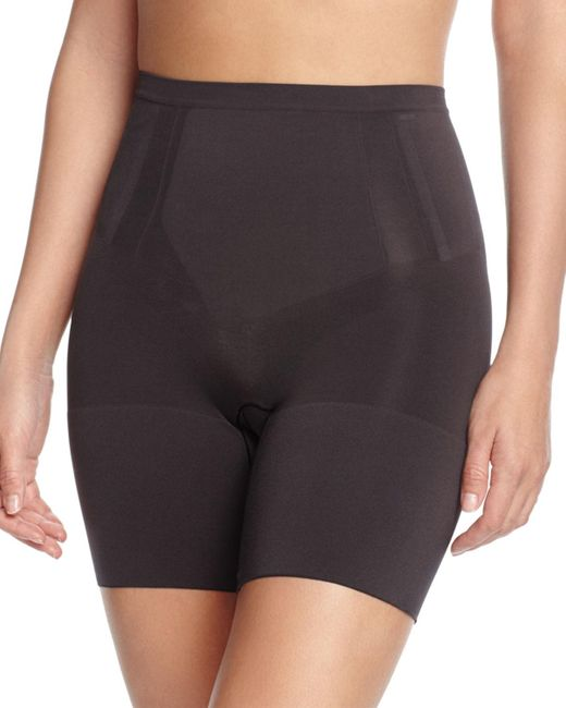 Spanx - Natural Oncore Mid-thigh Shaper - Lyst