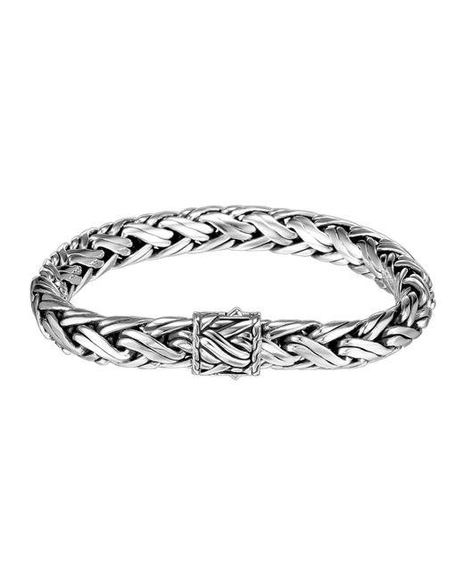 John Hardy | Metallic Medium Woven Chain Bracelet | Lyst