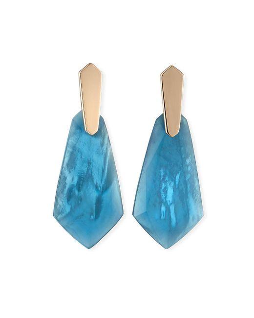 Kendra Scott Blue Darren Drop Earrings