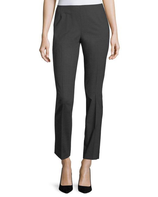 Lafayette 148 New York - Multicolor Stanton Cropped Pants - Lyst