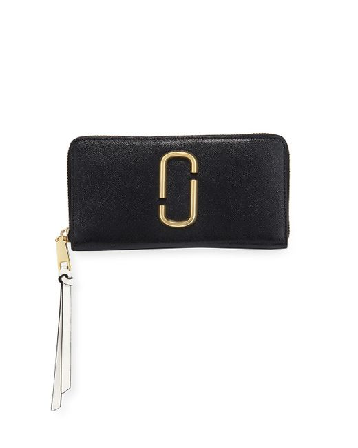Marc Jacobs - Black Standard Continental Wallet - Lyst