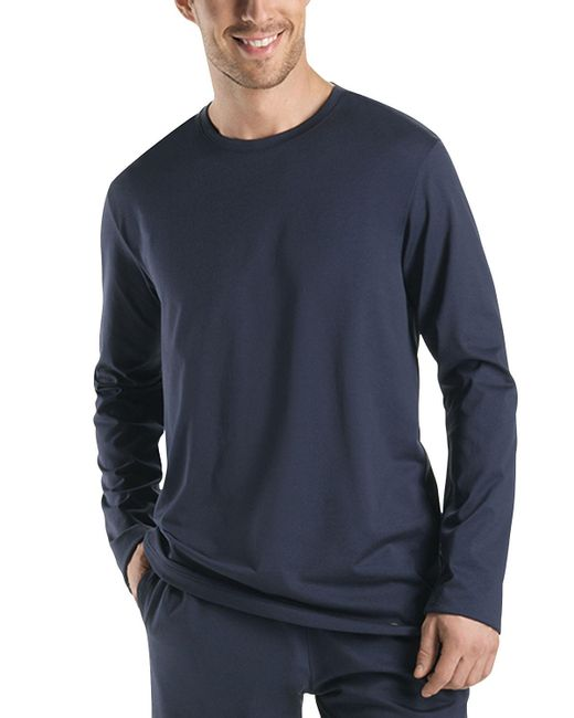 Hanro - Black Night & Day Long Sleeve Shirt for Men - Lyst
