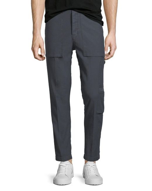 J Brand - Multicolor Men's Koeficient Military-inspired Twill Pants for Men - Lyst