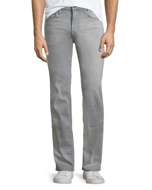 Joe's Jeans - Gray Brixton Straight-leg Jeans for Men - Lyst
