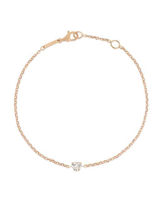 Anita Ko - Metallic 18-karat Rose Gold Diamond Bracelet - Lyst