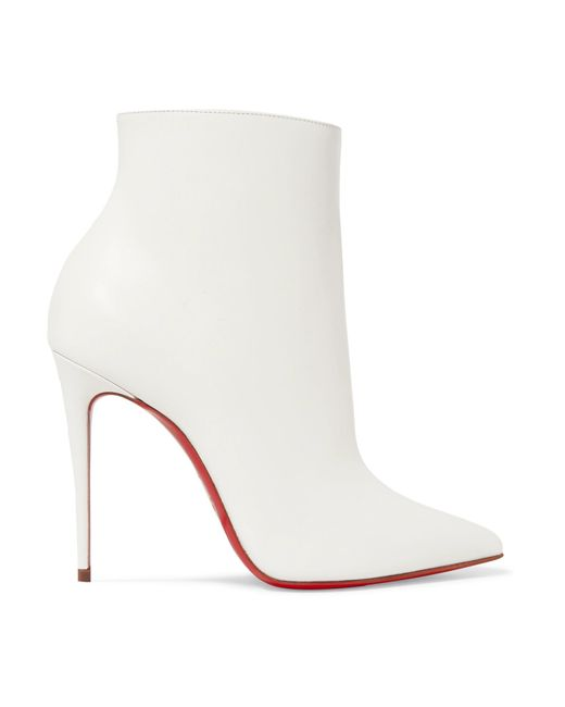 Christian Louboutin - White So Kate Booty 100 Ankle Boots - Lyst