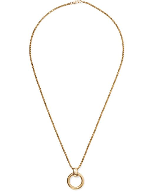 Laura Lombardi - Metallic Cambia Gold-tone Necklace Gold One Size - Lyst