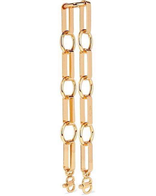 Mark Cross - Metallic Grace Gold-tone Chain Strap - Lyst
