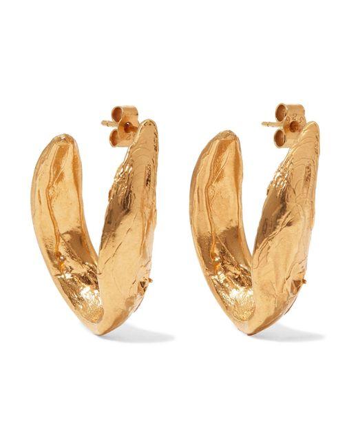 Alighieri - Metallic Surreal Gold-plated Earrings - Lyst