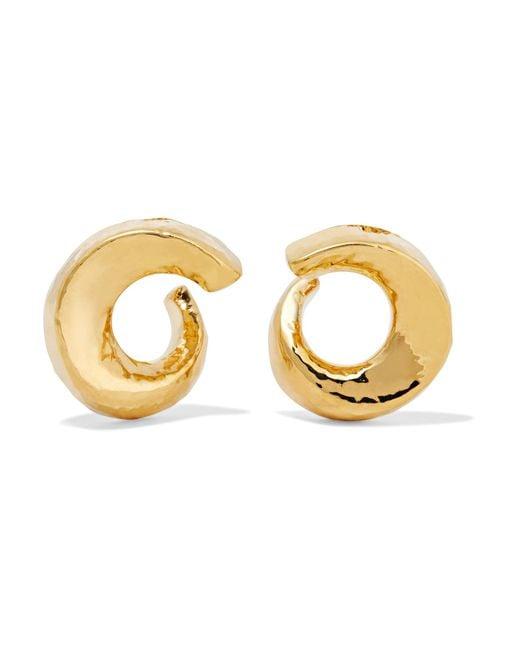 Ippolita | Metallic Classico 18-karat Gold Earrings | Lyst