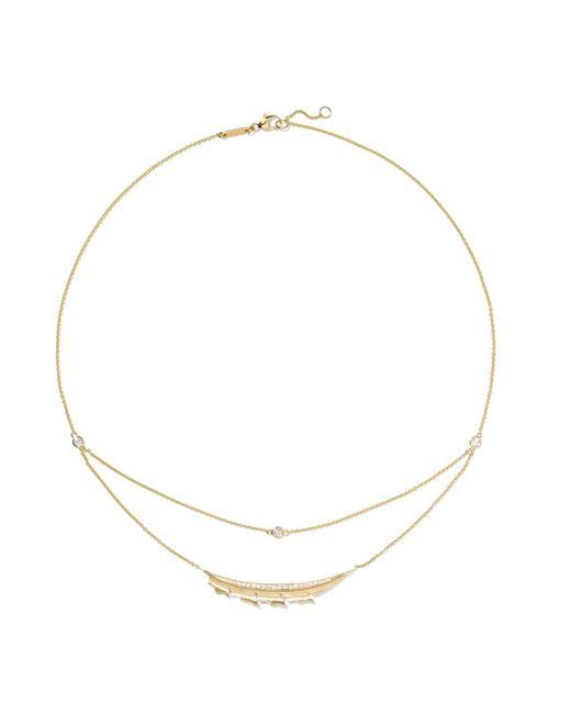 Stephen Webster - Metallic Magnipheasant 18-karat Gold Diamond Necklace - Lyst