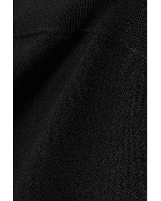 A.L.C. Black X Petra Flannery Conway Höschen Aus Stretch-strick