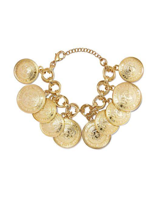 Balmain | Metallic Gold-tone Bracelet | Lyst
