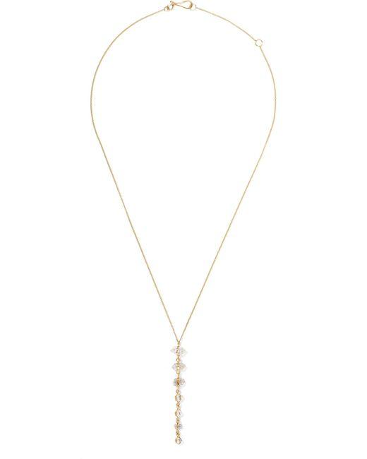 Melissa Joy Manning - Metallic 14-karat Gold Quartz Necklace - Lyst