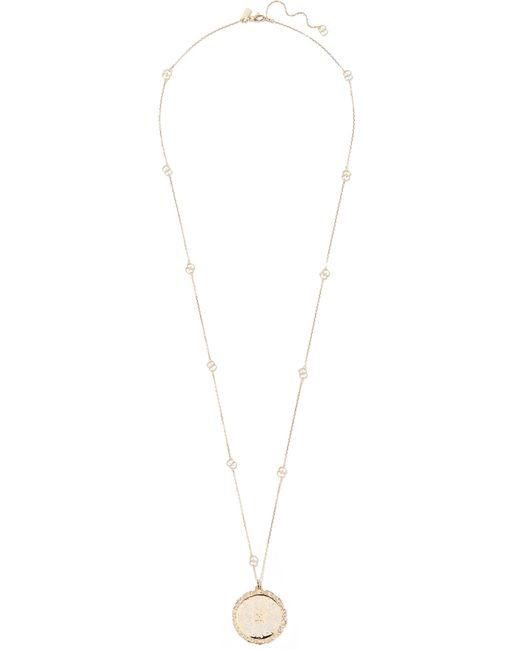 Gucci - Metallic Icon 18-karat Gold And Enamel Necklace - Lyst