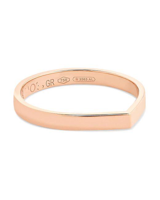 Repossi - Metallic Antifer 18-karat Rose Gold Ring - Lyst