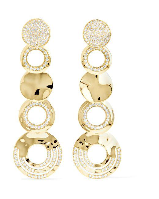 Ippolita | Metallic Classico Stardust 18-karat Gold Diamond Earrings | Lyst
