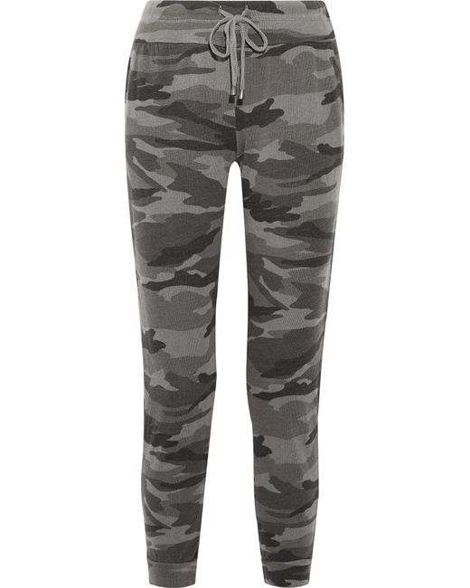 Splendid - Multicolor Camouflage-print Terry Track Pants - Lyst