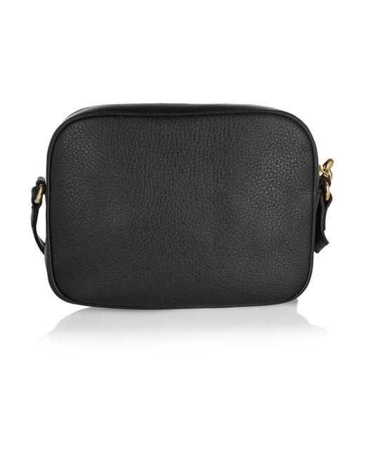 1c67ca4c8fb ... Gucci - Black Soho Small Leather Disco Bag - Lyst ...