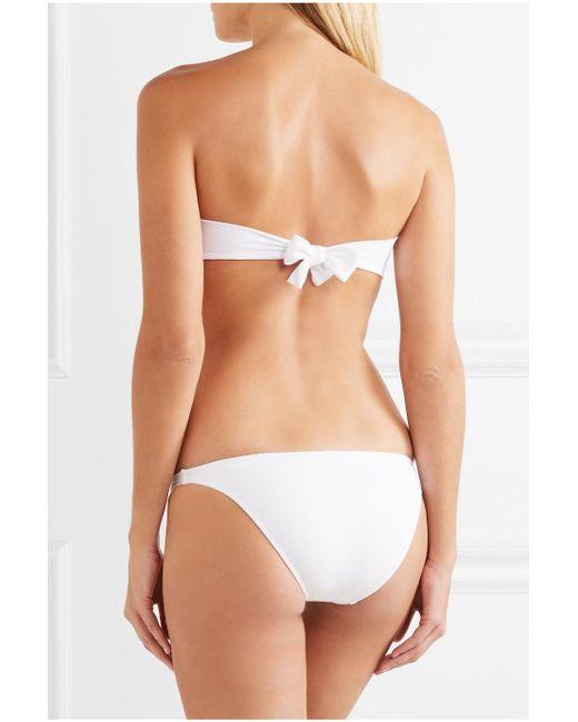 Clearance Cheap Real New Cheap Online Melissa Odabash Aruba Stretch-piqué Bikini Briefs Affordable Cheapest For Sale cxhNSX