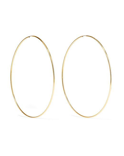 Loren Stewart - Metallic Infinity 10-karat Gold Hoop Earrings - Lyst