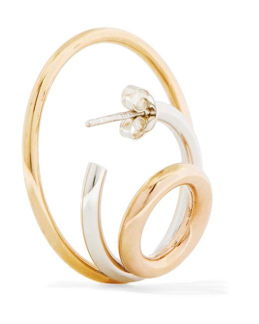 Charlotte Chesnais Silver Richoche Earrings - Metallic tjUSL