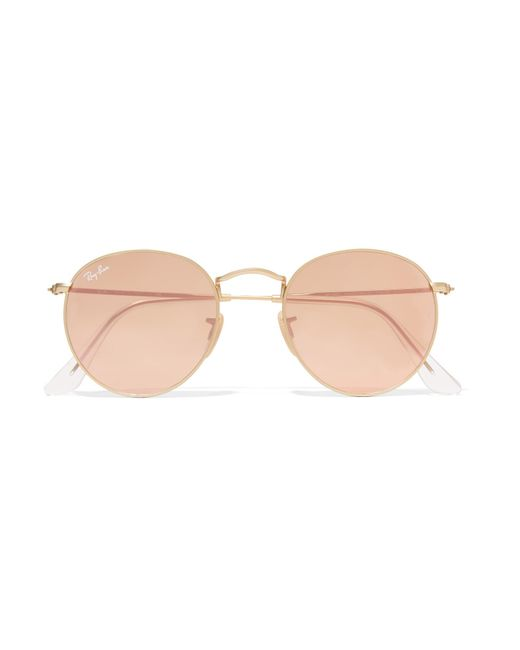Ray-Ban - Multicolor Gradient Round Brow-bar Sunglasses - Lyst