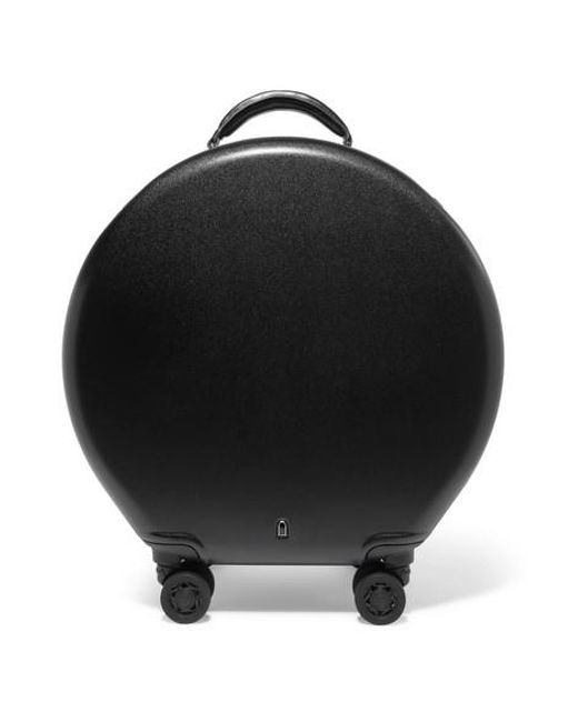 OOKONN Round Carry-on Spinner Suitcase – Black