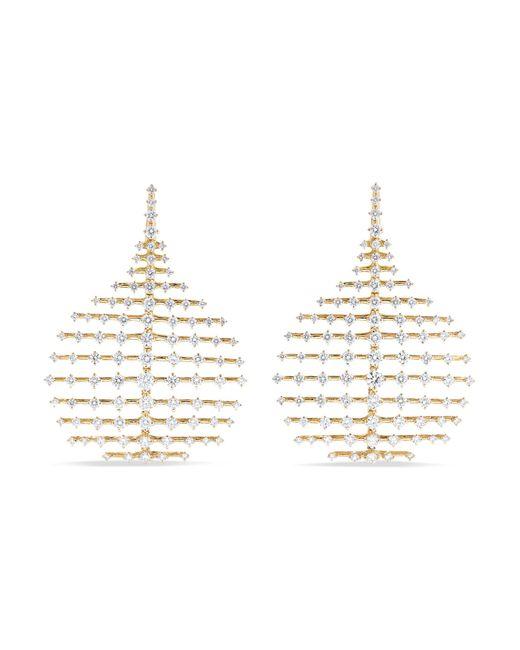 Fernando Jorge - Metallic Disco Small 18-karat Gold Diamond Earrings - Lyst