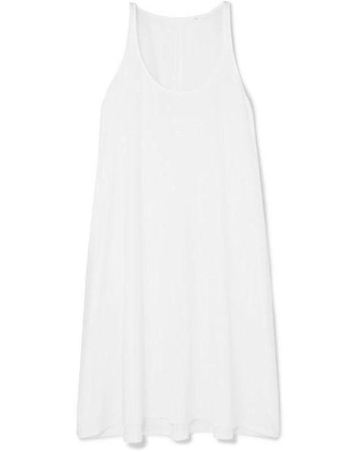 Skin White Joanne Pima Cotton-jersey Nightdress