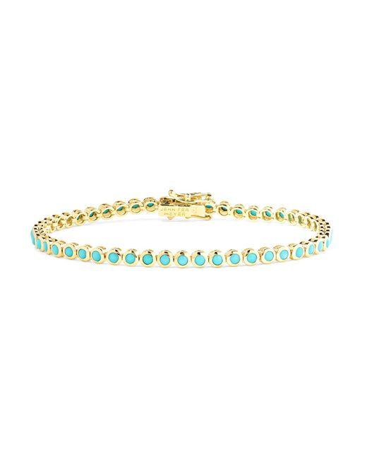 Jennifer Meyer - Metallic 18-karat Gold Turquoise Bracelet - Lyst