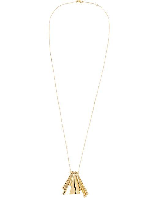 Ana Khouri - Metallic + Narciso Rodriguez 18-karat Gold Necklace - Lyst