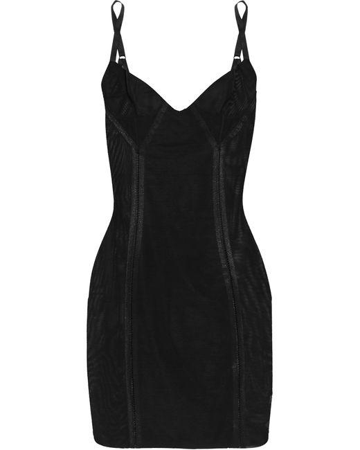 Spanx | Black Haute Contour Nouveau Stretch-mesh Slip | Lyst